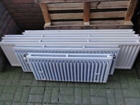 Several excellent condition double radiators