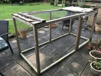 Large outdoor run for small pets e.g. rabbits, guinea pigs