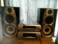TECHNICS SYSTEM AMP+SOUND PROC+SPEAKER! !