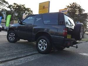 Holden Frontera 4x4 Convertible LONG REGO Tow Bar 2 Keys Mags Sutherland Sutherland Area Preview