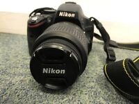 Nikon D D5100 16.2MP Digital SLR Camera - Black (Kit w/ VR 18-55 mm Lens)