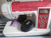As new Digital necchi embroidery sewing machine. boxed