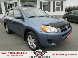 2012 Toyota RAV4 with Sunroof + Alloy $190.81 BIWEEKLY!!!