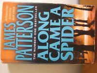 JAMES PATTERSON - ALONG CAME A SPIDER - HARDBACK - (Kirkby in Ashfield)