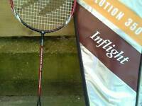 INFLIGHT EVOLUTION 350 Badminton Racket AND CARRY CASE.