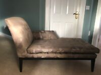 CHAISE LONGUE SOFA OCCASSSIONAL CHAIR ARMCHAIR FROM M&S AS NEW