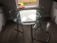 Dining table glass ikea