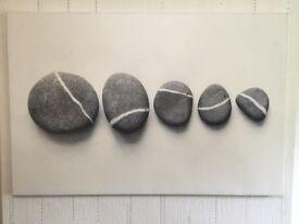 Large Pebble Canvas.