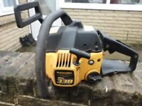 mcculloch petrol chainsaw, power unit only, no bar or chain with this saw