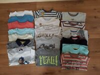 Bundle of boys clothes (t-shirts) size 2-3 years