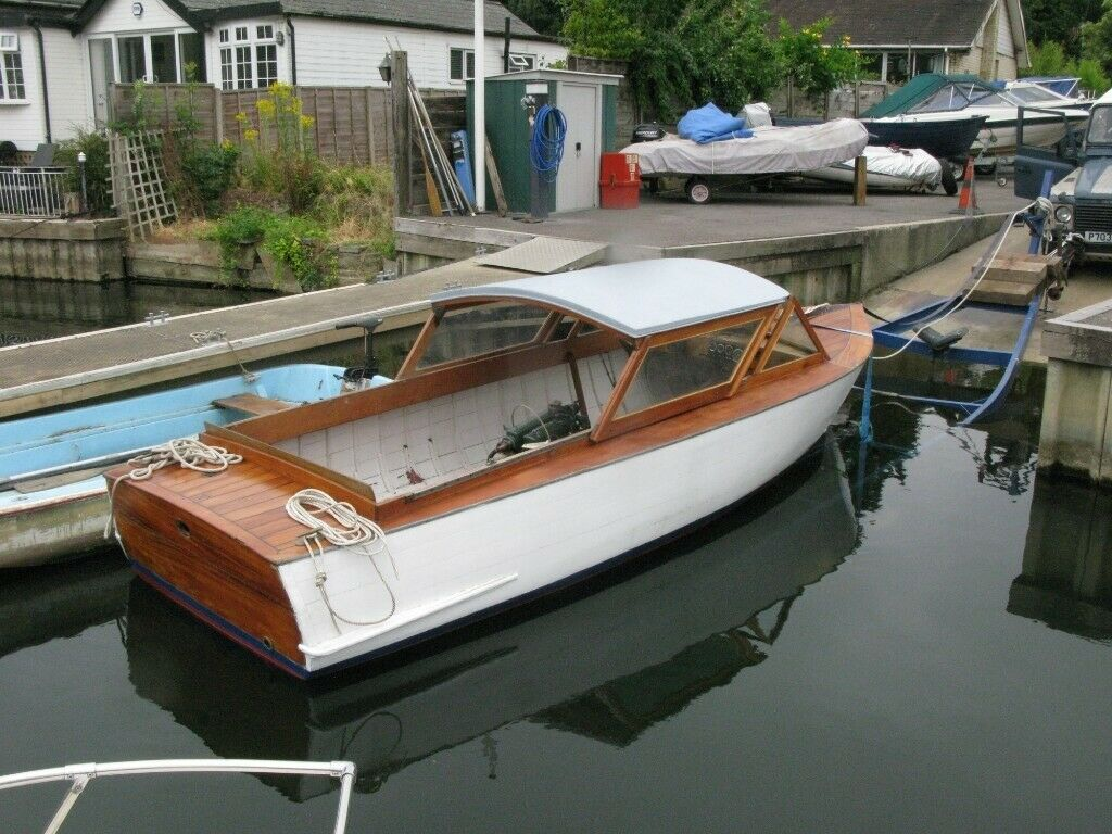 Classic Wooden Boat George Wilson Sons Ex Hire Boat In Sunbury On Thames Surrey Gumtree