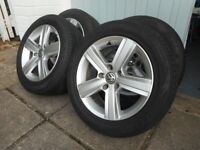 2015 VW Golf wheels and tyres