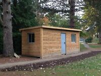 £900 - Portable Site Office / Storage Container 20ft Steel 30/70 split. Clad & Insulated.