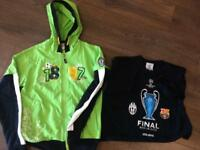 Official Juventus Hoodie And T-Shirt.