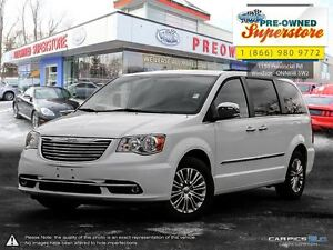 2016 Chrysler Town & Country Touring-Leather, NAV, power sliders