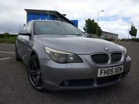 BMW 523i 2005 5 series (2.5L straight six engine)