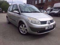 55 plate - Renault scenic - 1.6 petrol - 7 month mot -panoramic sun roof - low milleage