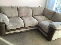 Featherby corner sofa LHF