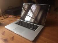 MacBook Pro 15 inch 2.2ghz i7 250gb SSD 500gb HDD, 4gb ram