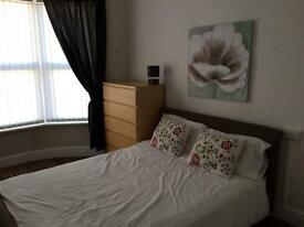 Excellent large double room in professional house share, all bills included and cleaner once a week
