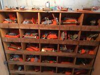 Joblot Schrader Bellows Pneumatic Enginerring Components Over 120 Pieces Job Lot