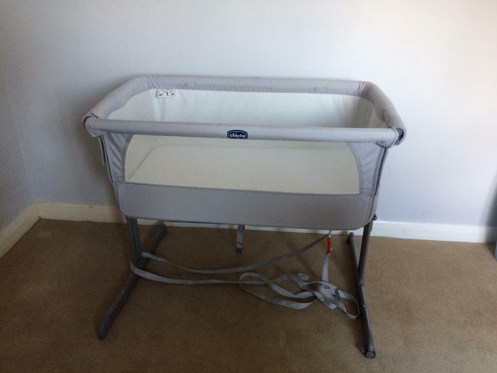 Chicco Next 2 me cot - silver