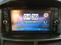 "Toyota 7"" Touch Screen DVD GPS Sat Nav Bluetooth USB SD AUX Music/Video/Radio Head Unit (inc remote)"