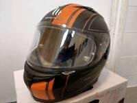 MT Blade SV Race Line - Matt Black /Orange