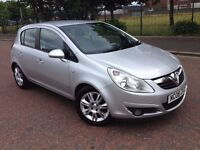 2008 Vauxhall corsa Design 1.2 , finance from £25 , mot - August 2017 ,only 49,000 miles,fiesta,clio