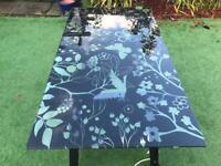 Trestle Desk Table