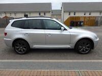 BMW X3 3.0 SD M Sport Automatic - Excellent Condition - Titanium Silver 85,000 miles