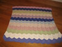 "Small Baby pram Throw / blanket 35"" x 32"""