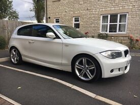 *MUST SEE!* BMW 1SERIES MSPORT 118D 105,000 MILES RECENT SERVICE & TYRES!