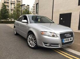2006 Audi A4, automatic, 133k miles, 2 litre diesel, MOT till July 2018