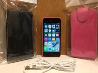 iPhone 5c 8gb pink unlocked