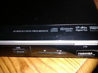 TOSHIBA DVD PLAYER WITH USB CONNECTION