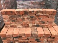 X525 68MM IMPERIAL HANDMADE RECLAMATION SHIRE BRICKS - LARGE STOCK