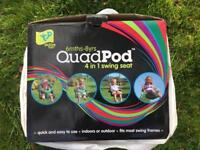 Quadpod 4 in 1 Swing Seat - Brand New