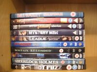 DVD collection for sale, 50p for all 11