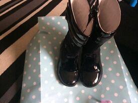 Girls designer boots infant size 7