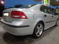 2005 top spec 6 speed saab 93 1.9 diesel with leathers+working parking sensors+mot+tax+FREE DELIVERY