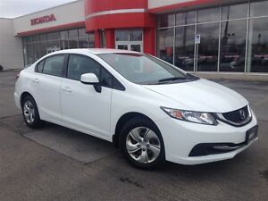 2013 Honda Civic LX| Automatic| One Owner| Accident Free|