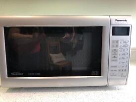Panasonic Slimline Combi Microwave Oven - NN-CT562M