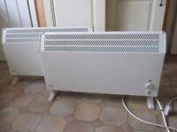 2 large Glen 3000w convector heaters