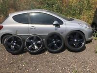 BMW X3 e46 e60 18' alloys&tyres