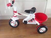 Children's bike - red & white trike