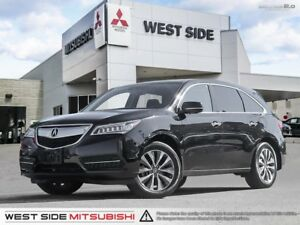 2016 Acura MDX Technology–Accident Free–Navigation–Satellite Rad