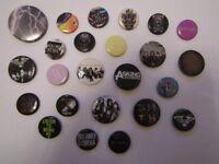 Set of 24 Rock Badges. BVB, PTV, AA, BMTH etc.