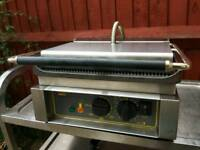 Commercial Electric Roller Grill Panini grill, contact grill, toaster