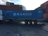 2006 tri-axle trailer for sale for 45ft, 40ft and 20ft containers
